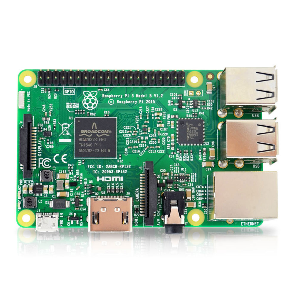 Original element14 raspberry pi 3 modell b/raspberry pi/raspberry/pi3 b/pi 3/pi 3b mit wifi & bluetooth