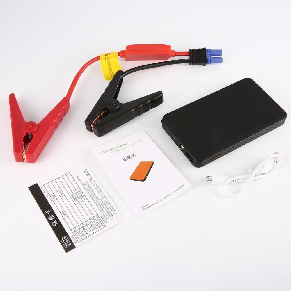 Portable 12V 30000mAh Multi-Function Car Jump Starter Emergency Power Bank LED Lighting For Digital Devices Charging Colorful автомобильный аккумулятор lunda 30000mah multi starthilfe
