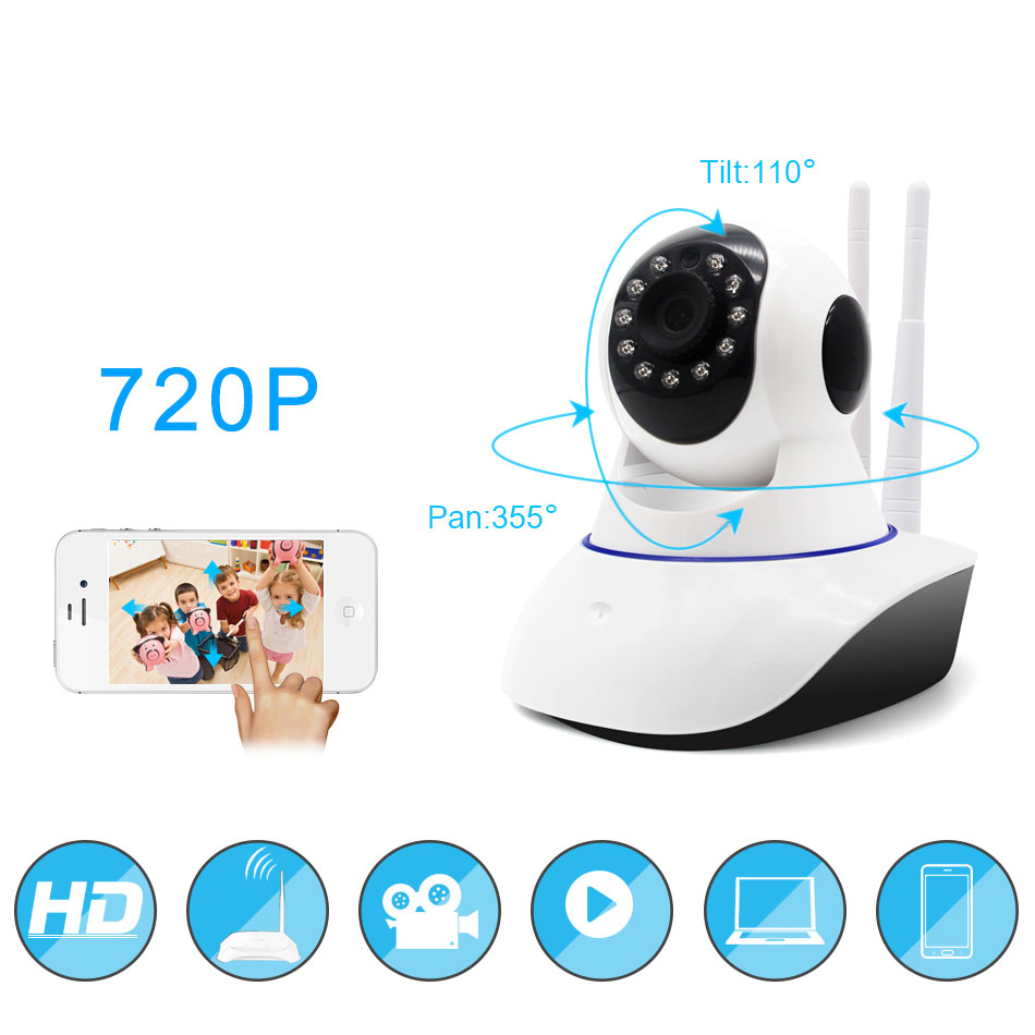 720P IP Camera Yoosee Wireless Onvif Home Security Network PTZ IP Camera Surveillance Wifi Night Vision CCTV Camera Baby Monitor720P IP Camera Yoosee Wireless Onvif Home Security Network PTZ IP Camera Surveillance Wifi Night Vision CCTV Camera Baby Monitor