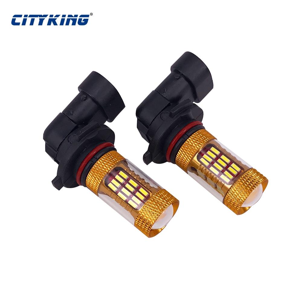 1 STKS HB4 HB3 9005 9006 LED-lampen High Power h11 9006 60LED 4014 - Autolichten