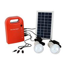 Portable Solar Lamp Panel Power Generator USB Cable Battery Charger Emergency Charging LED Lighting System For Household Street