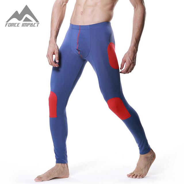 Nueva Suave Térmicas Long Johns Pantalones Sexy Parche Pantalones Calientes Del Otoño Invierno Inferior Home Sleep Wear DT04 Dropshipping
