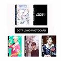 30 unidades Al Por Mayor KPOP Fan GOT7 JB Mark Jackson Álbum pequeñas Fotos Lomo Tarjetas la Tarjeta Fotográfica k-pop consiguió 7 pictórica k pop