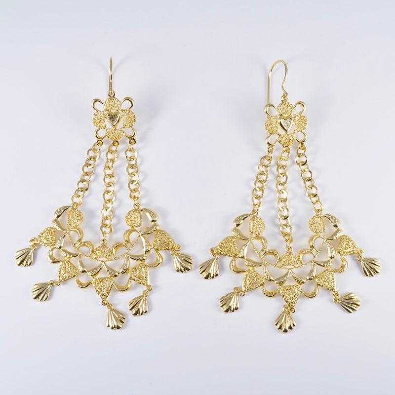 HTB1anlGOSzqK1RjSZFpq6ykSXXaK 6PCS Set Luxury Wedding Jewelry Set For Women Arabic Dubai Full Set Jewelry in Gold Big Size Costume Necklace Sets