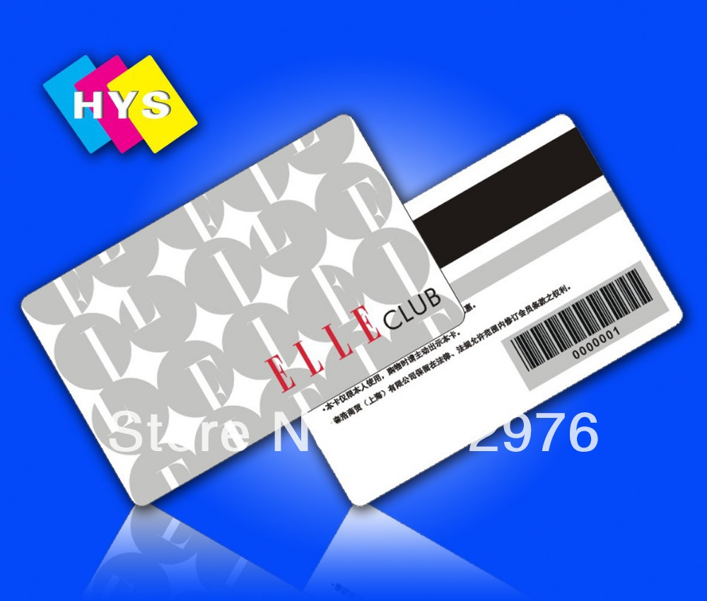 barcode plastic card and plastic card custom made - Custom Plastic Cards