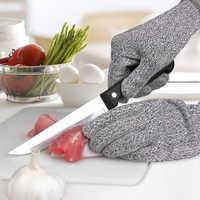 Taglio di sicurezza a prova di guanti traspirabilità e comfort di lavoro della cucina guanti, macellaio carpenter guanti da lavoro meccanico Cut guanti a prova di