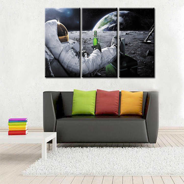 3 pieces / sets Framed Movie Poster Series canvas wall art painting home decoration living room canvas print modern painting
