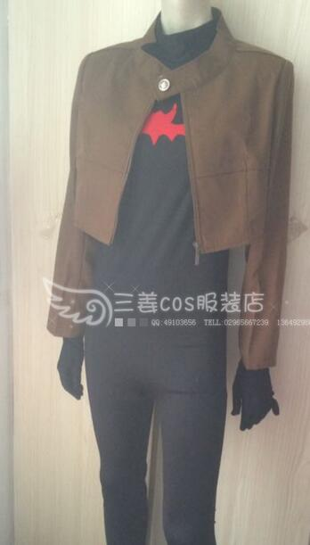 2016 High Quality Batman Jason Todd Costume Red Hood Cosplay Costume