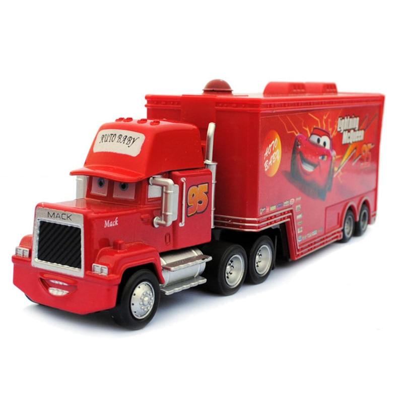 New-Pixar-Cars-2-fire-fighting-truck-95-Loose-Rare-Diecast-143-Metal-Toy-Cars-McQueen-Pixar-Truck-combination-1