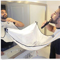 Hot Sale New The Beard Bib Apron Facial Hair Trimmings beard catcher cape Sink Home Salon Tool Shaving cloth mantella per barba