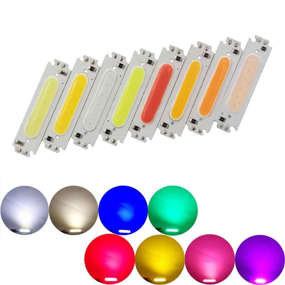 [ALLCOB] hersteller 60mm 15mm LED COB Streifen Lichtquelle chip moudle COB led-lampe 12V DC 2W 200LM FLIP Chip für DIY Lampe
