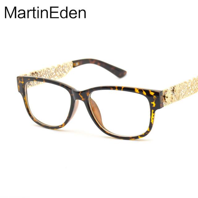 Piercing Flor Perna Senhoras Óculos de Armação Mulheres Miopia Óculos Eyewear Brown Branco Rosa Decorativo Feminino Óculos Optical