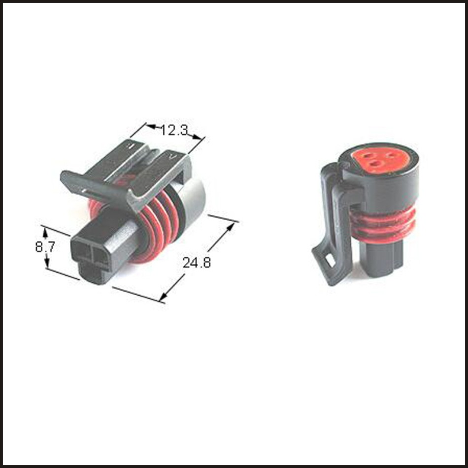 hight resolution of details of male connector terminal plug connectors jacket auto plug socket female connector 3 pin connector fuse box pa66 dj7034y 1 5 21 click image