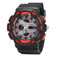 Marca de Relojes de lujo de Los Hombres Rubber Band mens led digital Impermeable de los relojes relojes deportivos de Buceo de goma de Cuarzo Reloj de pulsera 2016