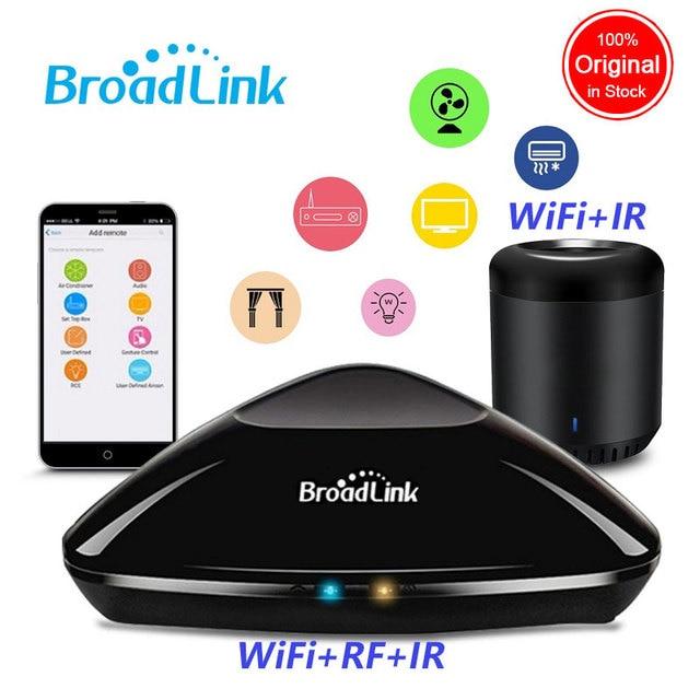 Broadlink RM Pro RM Mini3 2019 nueva versión RM33 IR + RF + WiFi + casa inteligente Universal inteligente controlador remoto para Ios Android