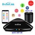 Broadlink RM Pro 2018 nueva versión RM33 RM Mini3 IR + RF + WiFi + casa inteligente Universal inteligente controlador remoto para Ios Android