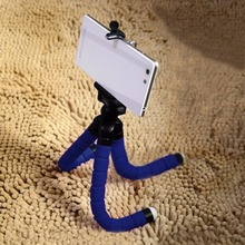 Camera Phone Holder Flexible Octopus Tripod Bracket Stand Mount Monopod Styling Accessories For Mobile Phone Camera