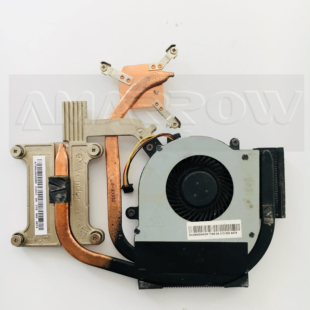 Original Free Shipping CPU Cooling Fan For Lenovo ThinkPAD E430 E435 E430C E530 E535 Heatsink DC28000AKD0