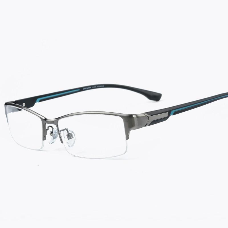 Vazrobe titane lunettes hommes marque lunettes cadres pour homme 138mm/143mm Prescription lunettes myopie Diopter marque qualité