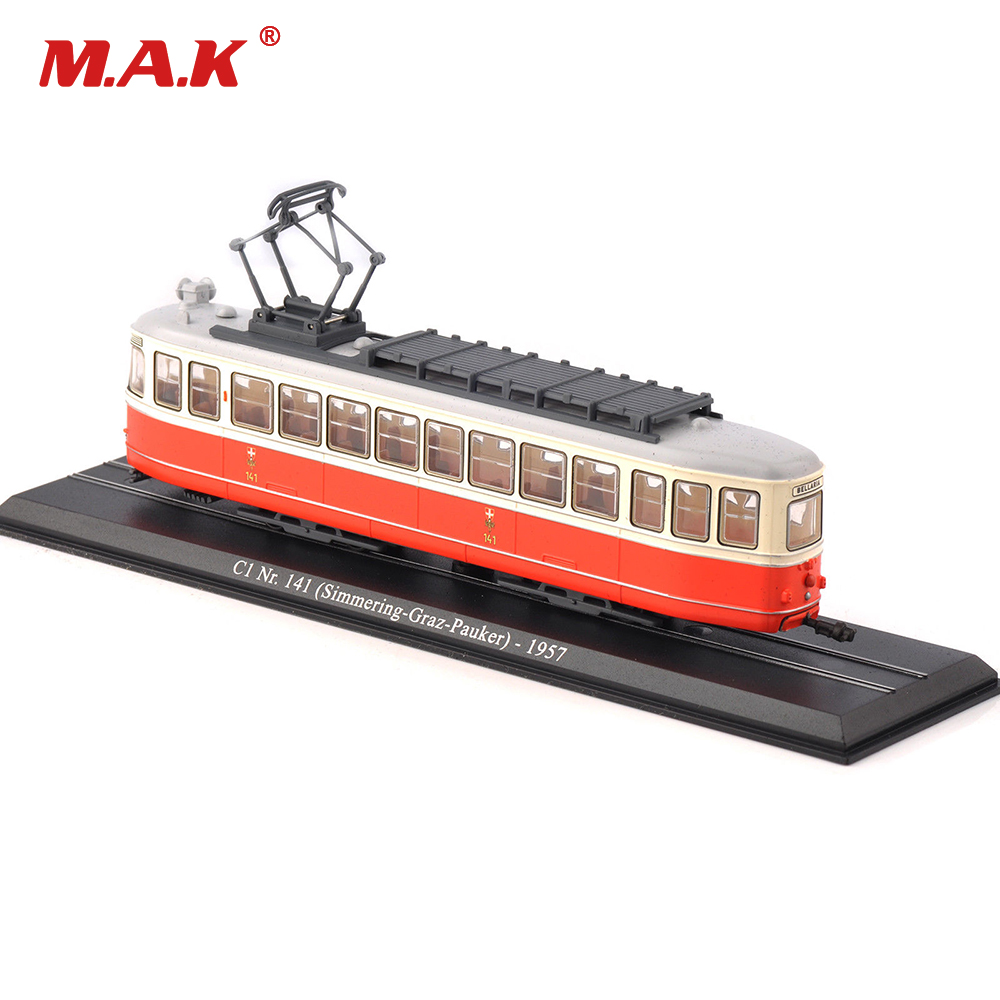 Kid Toys 1/87 Model C1 Nr.141 (Simmering-Graz-Pauker)-1957 Atlas Tram Vehicle Car No. 11 ...