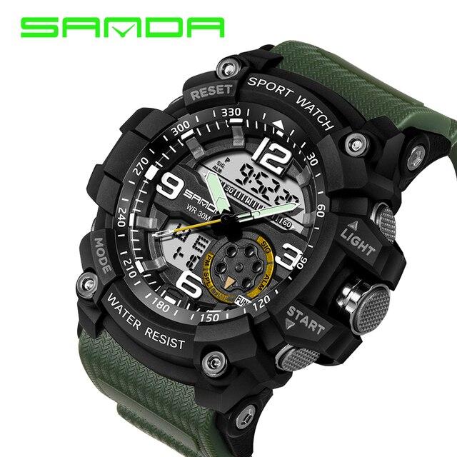 Waterproof S Shock Wristwatches  5