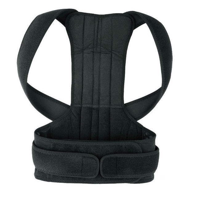 Adjustable Back Posture Corrector Prevents Slouching Spine Back Shoulder Lumbar Brace Support Belt Posture Correction B003