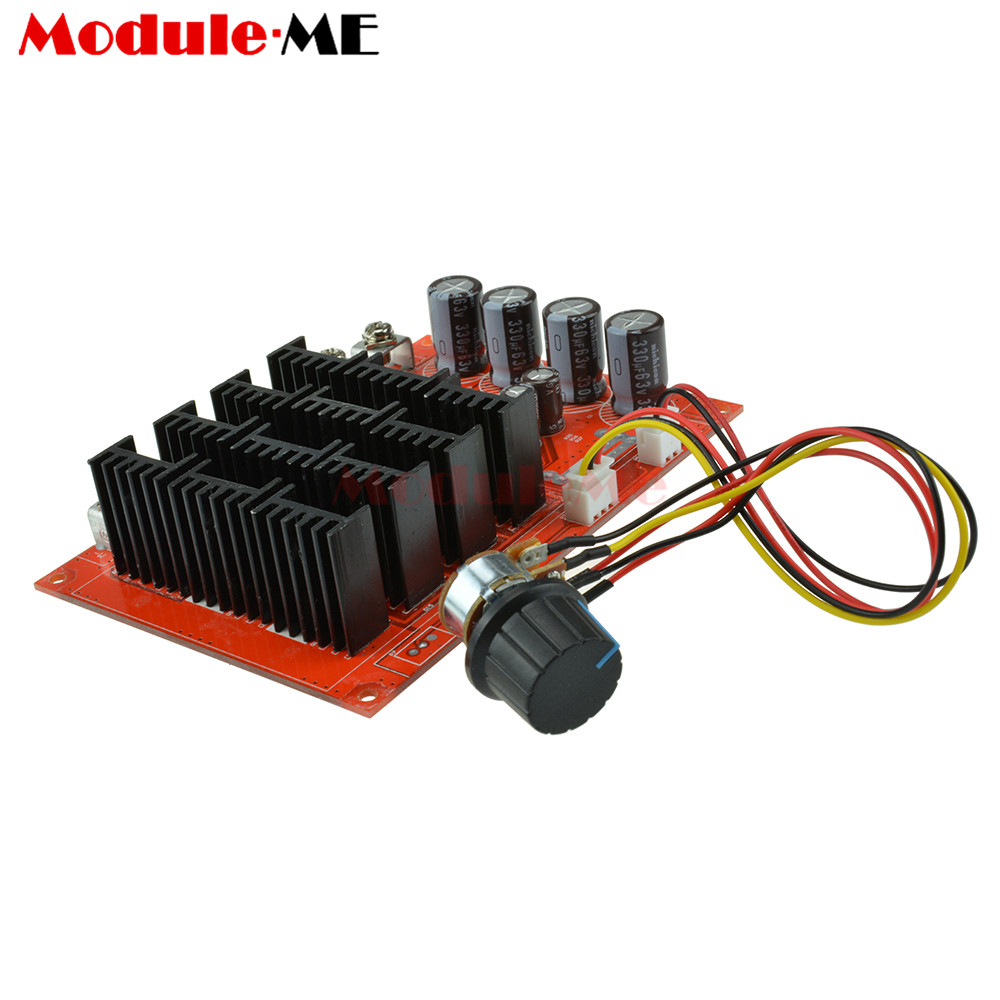 Dc 10 50v 60a High Power Motor Speed Controller Pwm Hho Rc Driver For Generator Circuit Diagram 1 X 12v 24v 48v 3000w Fan Control