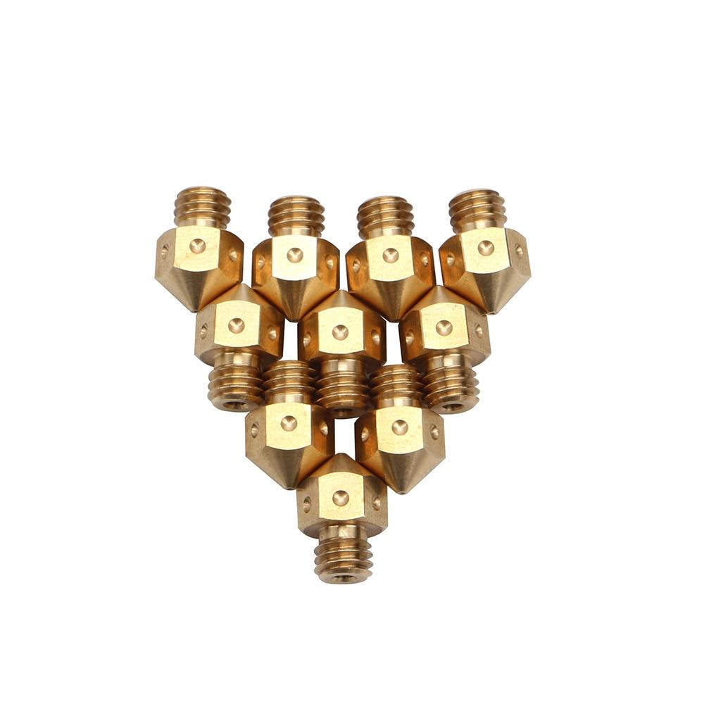 bicos de bronze j-cabeça extrusão rerap prusa i3 extrusora