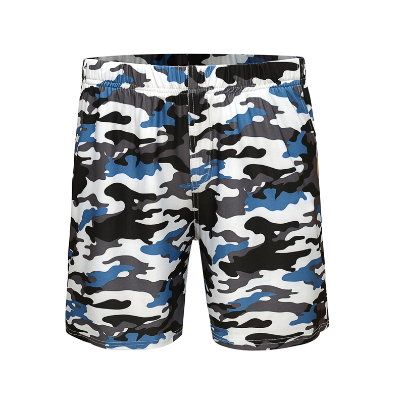 Summer Men's Beach Shorts Camouflage Print Leisure Sports Shorts Five Points Swimshorts Men Tide Plus Size
