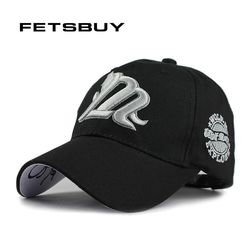 FETSBUY Spring Wholesale   Baseball     Cap   Men Cotton Letter Fitted Adjustable Casquett Hats Men'S Hat For Man Women Gorras 2017 New