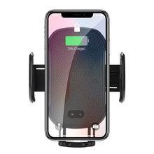 Universal Qi Wireless Car Charger Wireless Charger Smart SENSE Air Vent Mount สำหรับ Samsung Galaxy S9 # LR4(China)