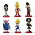 6 unids Budokai Dragon ball Z Figuras de Acción Goku Gohan Dragonball Vegeta PVC Modelo de Juguete Figura Japonesa Del Anime Dragon Ball Kai