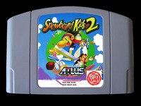 64 비트 게임 ** 스노우 보드 키즈 2 (영어 pal 버전!!)
