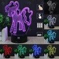 HUI YUAN Perro Encantador Luz de La Noche 3D RGB Cambiable Mood Lamp LED decorativa lámpara de mesa de luz dc 5 v usb conseguir un free control remoto
