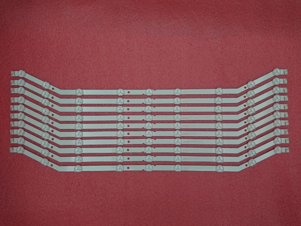 New 10 PCS*9LED 585mm LED Backlight Strip Replacement For Samsung 32 Inch D3GE-320SM0-R2 BN64-YYCO9 D3GE-320SMO-R2 BN64-YYC09