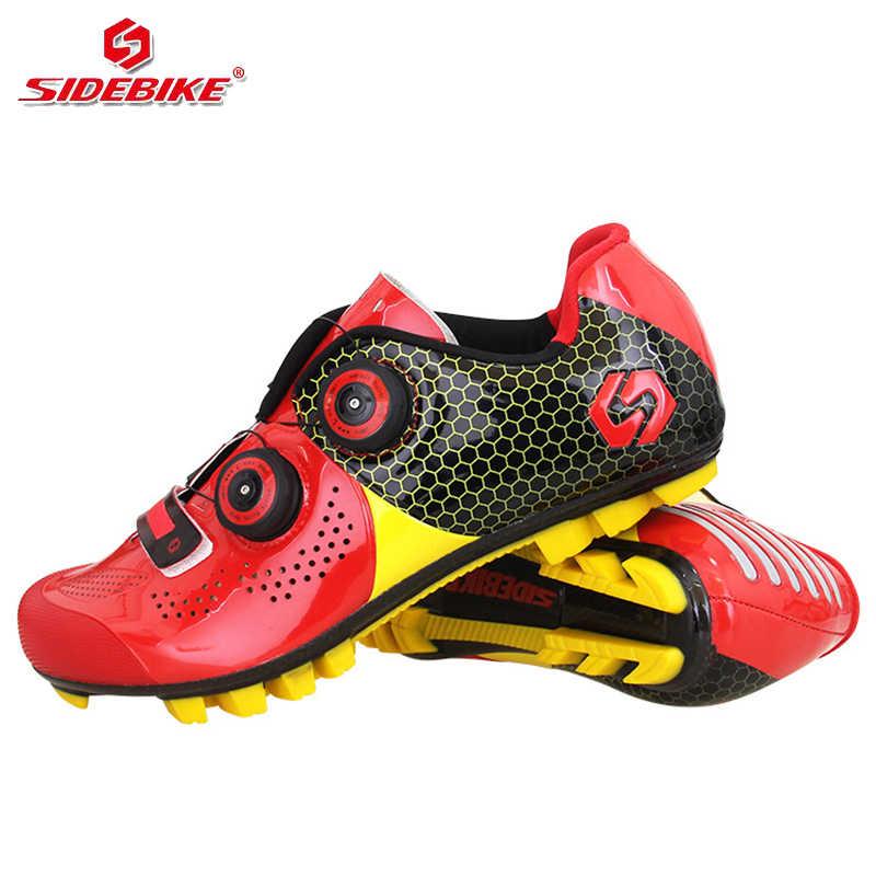 sidebike carbon shoes men trek mtb
