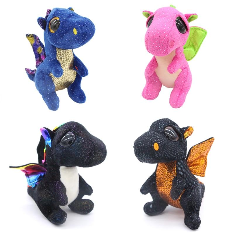 Ty Beanie Boos Big Eyes 6 Quot Kawaii Dragon Plush Animal