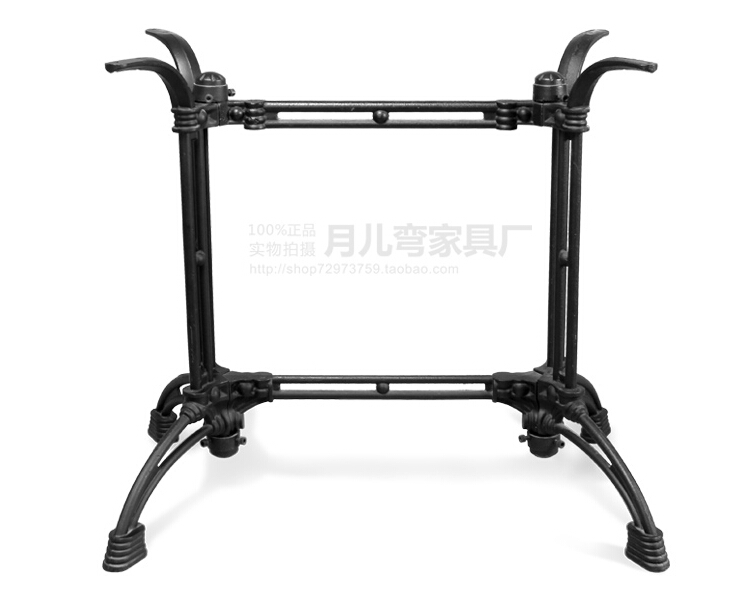Cast iron table legs cheap coffee shop cast iron outdoor for Rod iron legs