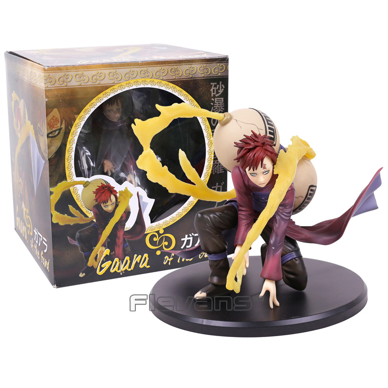 MH GEM Anime Naruto Shippuden Gaara of the Sand PVC Figure Collectible Model Toy 19cm