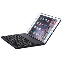 Adatti a nuovo Tastiera Bluetooth Lega di Alluminio con 7 Colori Retroilluminato A Conchiglia ABS Pulsante Colorato tastiera del gioco per iPad air2