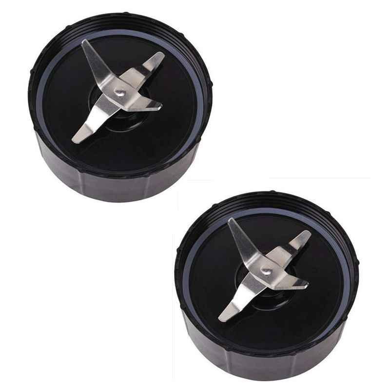 Venda quente Pacote de 2, Cruz Lâmina Parte Substituição Compatível Com Original Magia 250 W Liquidificador Processador de Alimentos, espremedor e Mixer