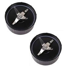 hot sale Pack of 2, Cross Blade Replacement Part Compatible With Original Magic 250 W Blender Food Processor, Juicer and Mixer(China)
