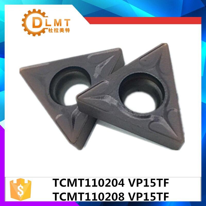 20vnt. TCMT110204 VP15TF / TCMT110208 VP15TF vidiniai tekinimo įrankiai Karbido intarpai Pjovimo įrankis CNC įrankiai Tekinimo įrankiai Tekinimo pjoviklis
