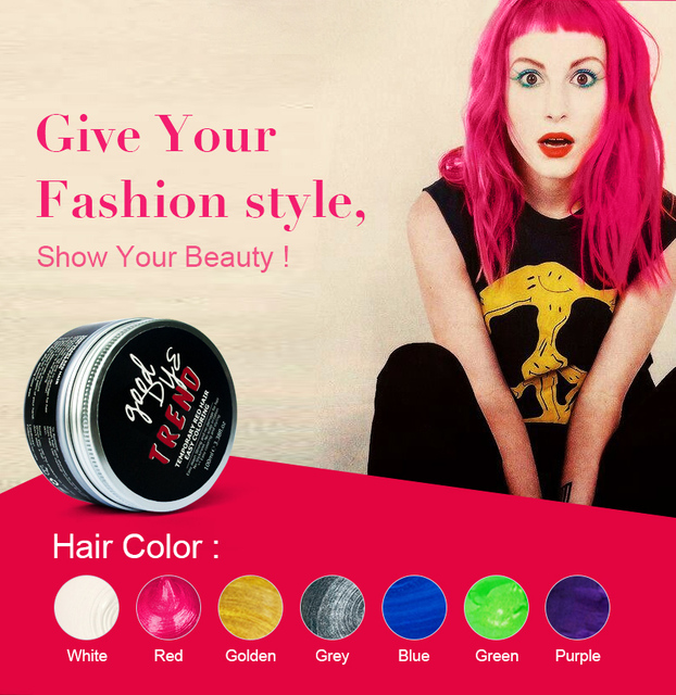 Aliexpress Buy 2017 Hot Selling Temporary Hair Dye One Time