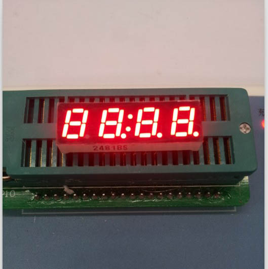Free ship Common anode/ Common cathode 0.28 inch digital tube 4 bits digital tube led display 0.28inches Red digital tube 12pins