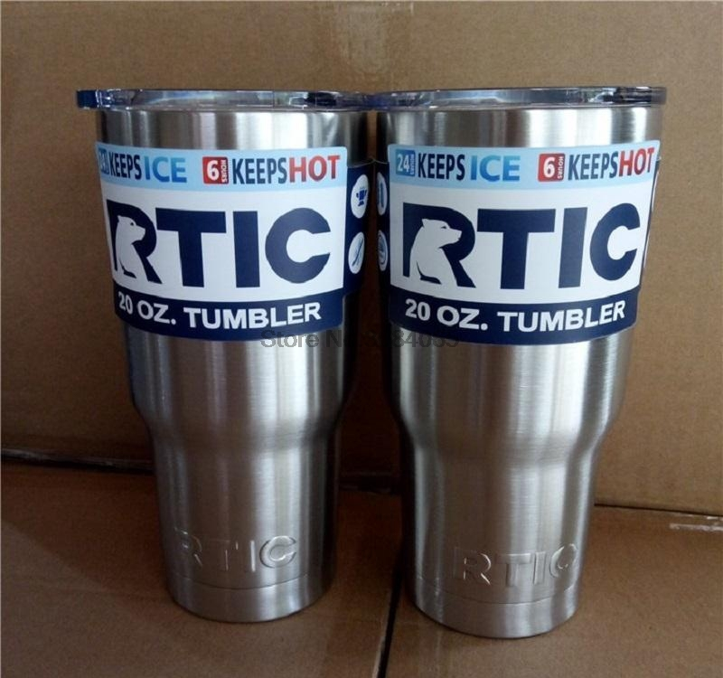 200pcs Rtic 20oz 30oz Stainless Steel Cup Travel Mug