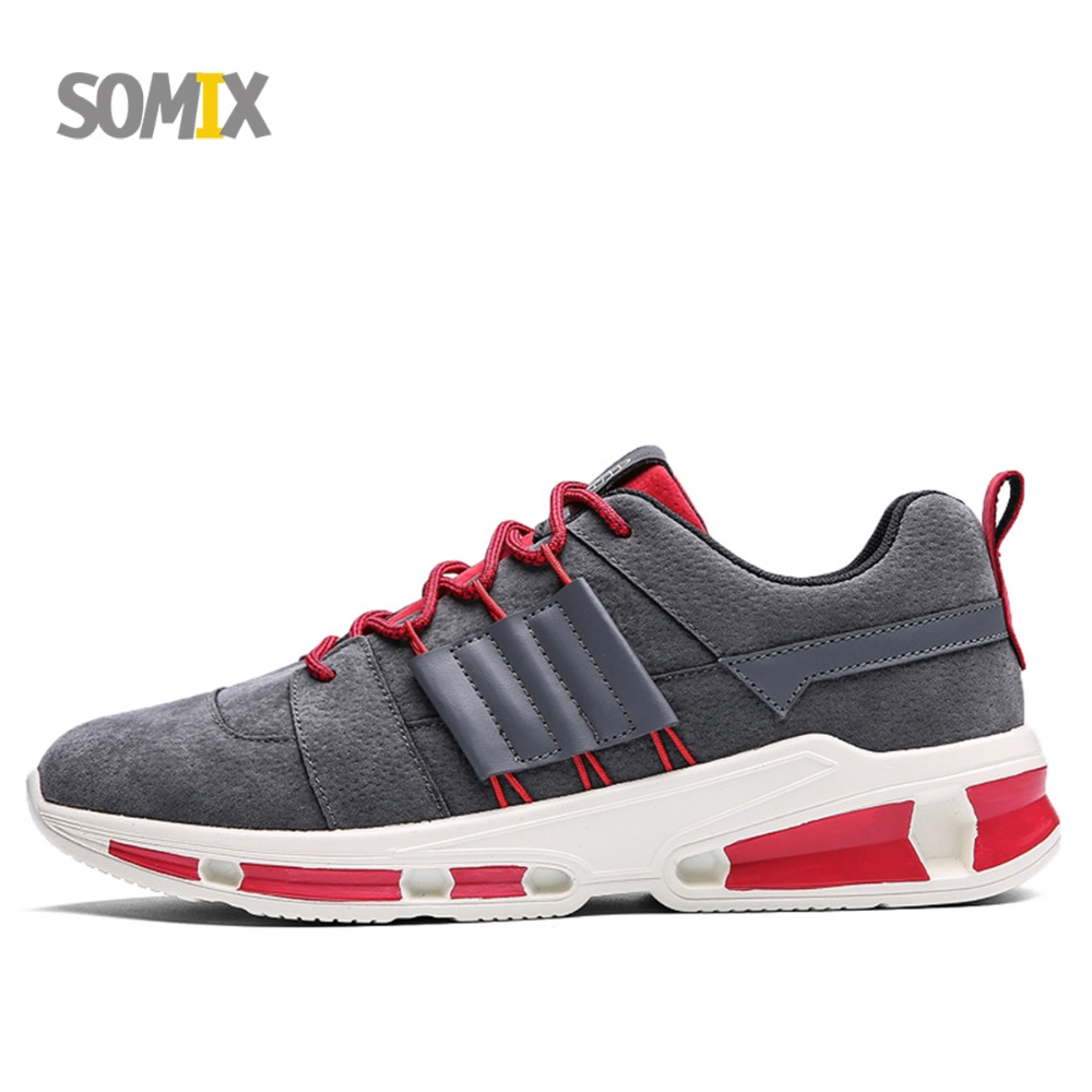 Somix Mesh (Air Mesh) Lightweight Running Shoes for Men Breathable Outdoor Fitness Men Sneakers Fun Run Jogging Sport Shoes Male