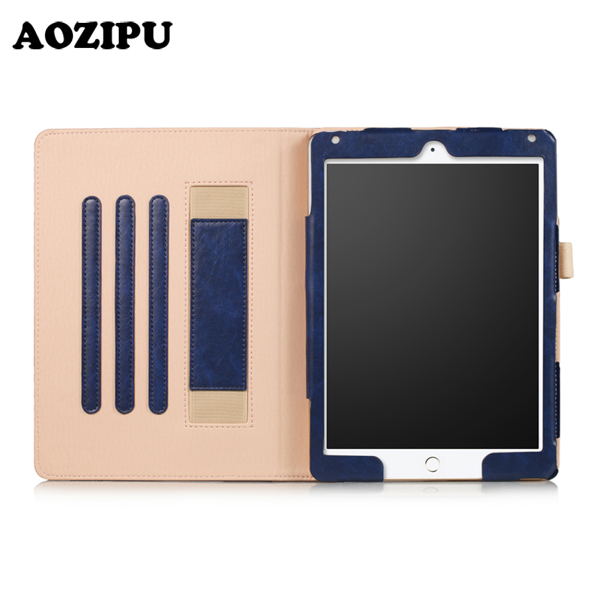 Smart Case for iPad 2017 & for iPad Air 2 9.7 inch Universal,AOZIPU PU Leather Magnet Auto Wake/Sleep Protective Stand Cover case cover for goclever quantum 1010 lite 10 1 inch universal pu leather for new ipad 9 7 2017 cases center film pen kf492a