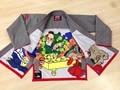 Free Shipping - Sunrise Ripstop Gray BJJ Gi Kimonos Grappling Brazilian Jiu Jitsu Gi MMA Fightwear A0-A4 Brand New!!!