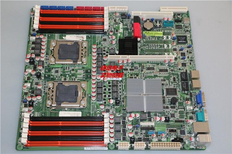 Оригинальный Z8NR-D12-SYS X58 Двойной материнская плата сервер поддерживает X5650